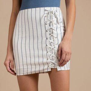 Tobi Tie up skirt